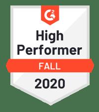 G2 High Perf Fall 2020