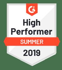G2 High Perf Summer 2019