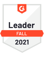 G2 Leader Fall 2021 Badge